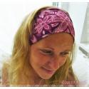Haarband Stirnband Pink Fuchsia Rosa Jersey E K