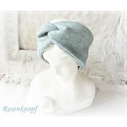 Haarband Stirnband Mintblau Knoten Stirnband Stretchband Damenhaarband Elastisch Geschenk E+K