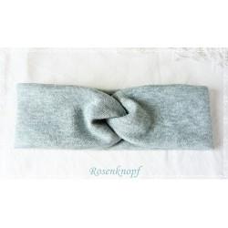 Haarband Stirnband Mintblau Knoten E K
