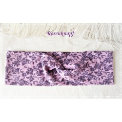 Haarband Stirnband Lavendel Violett Jersey  E K