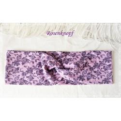 Haarband Stirnband Lavendel Violett Jersey  EK