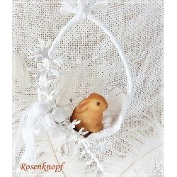 Osterschaukel Weiß Shabby E*K