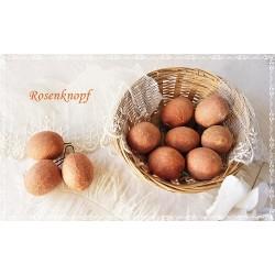 Ostereier Watteeier Apricot Vintage