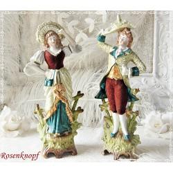 Porzellan Paar Vasen Antik E K