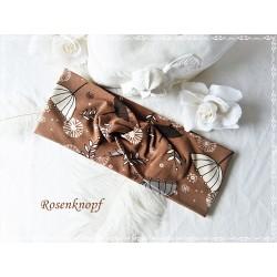 Haarband Stirnband Nougat Upcycling   E K