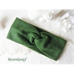 Haarband Stirnband Grün Fleece