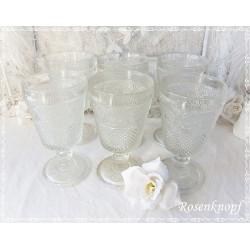 Glasschale Vintage Blütenform E K