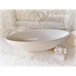 Schale Weiß Keramik Vintage   EK