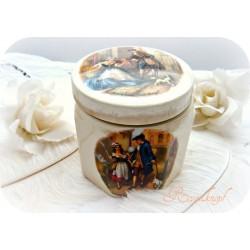 Keramikdose England Marmelade Vintage