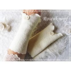 Walkstulpen Braut Rosa Damen E