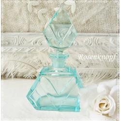 Glasflasche klein ~ 1930 Vintage  E