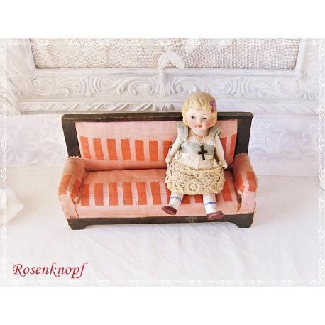 Küchenschrank Puppenhaus Antik ~1910 EK