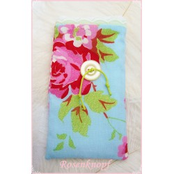 IPhone Handy-Etui Kamera MP3 Hellblau Rosa