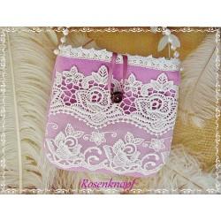Tasche Brauttasche Rosa Ivory