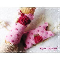 Walkstulpen Rosa Rot Damen E
