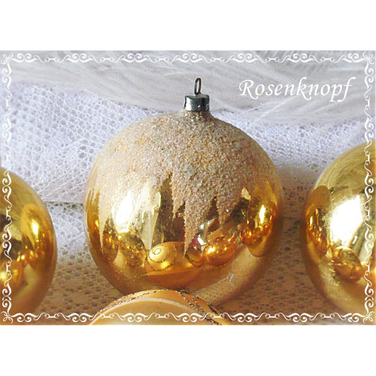 Christbaumkugeln Weiß Gold.9 Christbaumkugeln Gold Charlott Amsberg