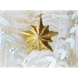 Stern Blattgold Weihnachten