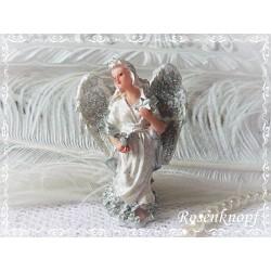 ENGEL Weiß Weihnachten Schutzengel Polyresin