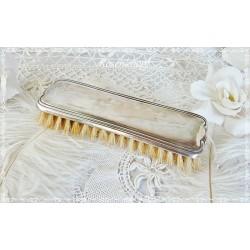 BÜRSTE Versilbert  Kleiderbürste Vintage Shabby