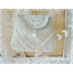 Tasche Brauttasche Ivory Weiß