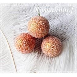 Christbaumkugel Apricot