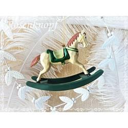 SCHAUKELPFERD Pferd Anhänger