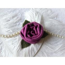 Ansteckblüte ROSE Brosche Brautschmuck