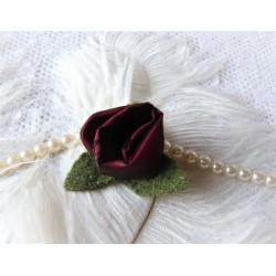 Ansteckblüte ROSE Brosche Schmuck