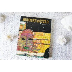 Friedensreich HUNDERTWASSER Buch Farbdruck