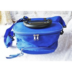 Kulturtasche Koffer Blau Camping Badetasche
