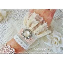 Armband Brautschmuck Weiß