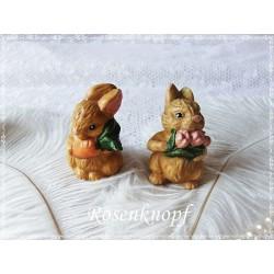 HASENPAAR Ostern Keramik