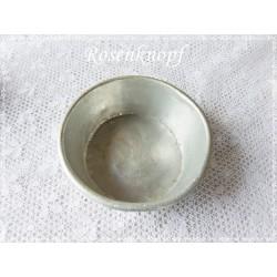 ANTIK PUPPENKÜCHE SCHÜSSEL Aluminium