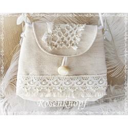 Handtasche Brauttasche IVORY
