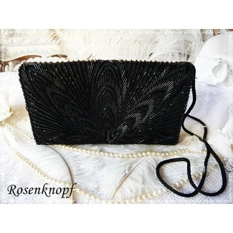 Clutch Abendtasche Schwarz