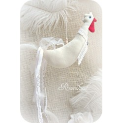 Huhn in Ivory Ostern