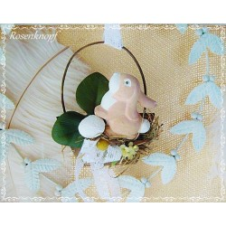 Osterschaukel Hase Mobile Shabby