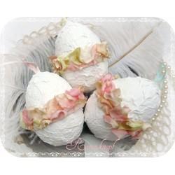 OSTEREI Shabby Weiß Rosé
