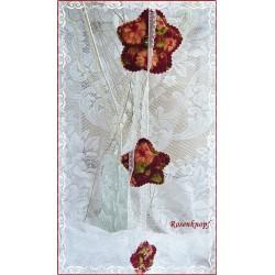 Girlande Windspiel Shabby Blume