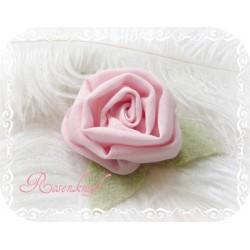 Ansteckblüte KLEINE ROSE Brosche Rosa Brautschmuck