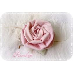 Ansteckblüte ROSE Brosche Rosa Brautschmuck