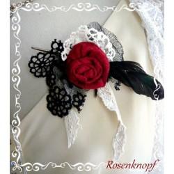 Brosche Rose Schmuck Anstecker