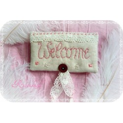 Türschild WELCOME Shabby