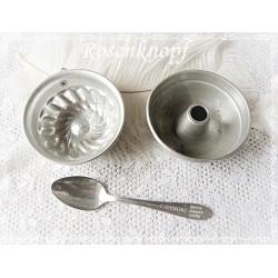 ANTIK GESCHIRR Puppenküche Aluminium