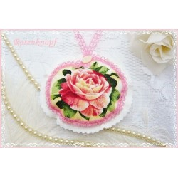 Lavendel Duftkissen ROSE of ENGLAND Shabby Spitze