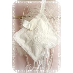 Lavendel Duftkissen Shabby Weiß