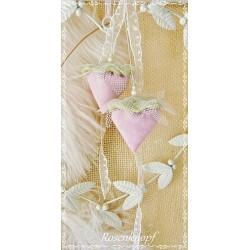 LAVENDEL-BEEREN Lavendelkissen Duftbeeren Lavendel Rosa Lindgrün Tüll Perlen Spitze Geschenk Mitbringsel Give Away E