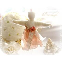 ENGEL Weiß Rosa Shabby