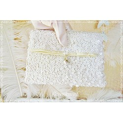 Clutch Darling Brautclutch Ivory Pailletten